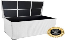 xxl auflagenbox wei top 4 garten aufbewahrungsbox mit deckel. Black Bedroom Furniture Sets. Home Design Ideas