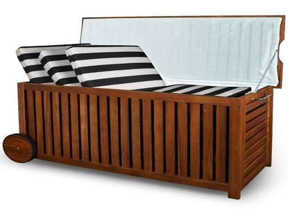holz gartentruhe aus eukalyptus holz holz gartentruhe kaufen. Black Bedroom Furniture Sets. Home Design Ideas