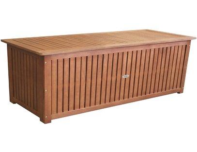 holz gartentruhe aus eukalyptus holz holz gartentruhe. Black Bedroom Furniture Sets. Home Design Ideas