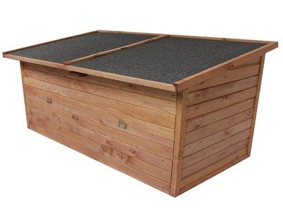 Xxl Gartentruhe Wasserdicht Holz Modell