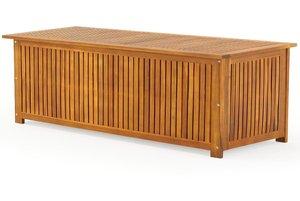 xxl gartentruhe wasserdicht holz modell. Black Bedroom Furniture Sets. Home Design Ideas