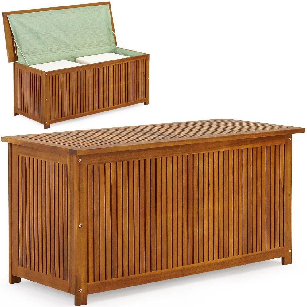 xxl gartentruhe wasserdicht wasserdicht wasserdicht holz modell f20847. Black Bedroom Furniture Sets. Home Design Ideas